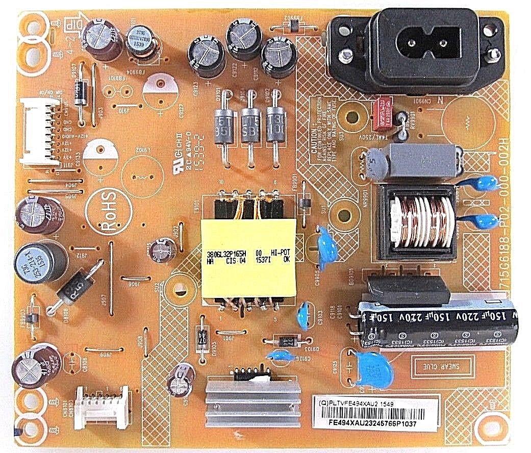 Vizio PLTVFE494XAU2 LTT6UNBS Power Supply Board Unit for D24-D1